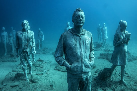 New Underwater Museum in Lanzarote