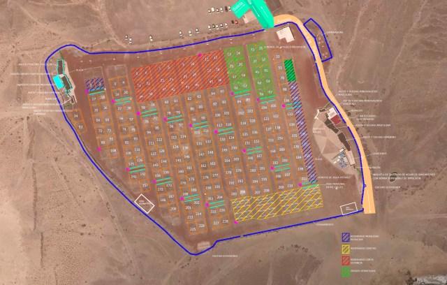 Papagayo Campsite Plan 2018