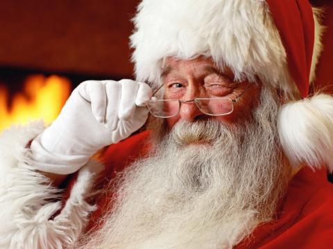 Santa Claus and Lanzarote