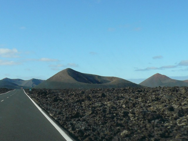 Timanfaya-cycling