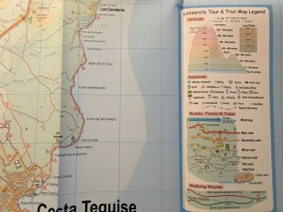 Lanzarote Tour & Trail Map 4th Edition