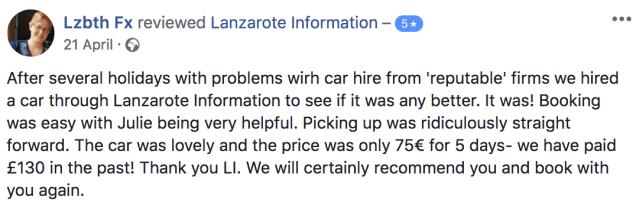 Car Hire reviews