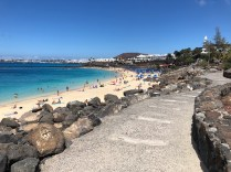 Playa Dorada in Playa Blanca
