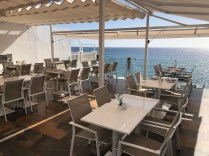 Top restaurant terrace
