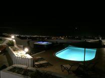 Providencia pool at night