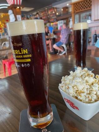 Berlin beer & popcorn