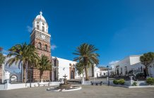 We did a walking tour of the historic buildings in Teguise