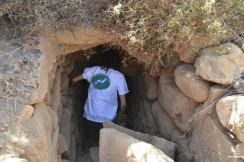 Walking into the well