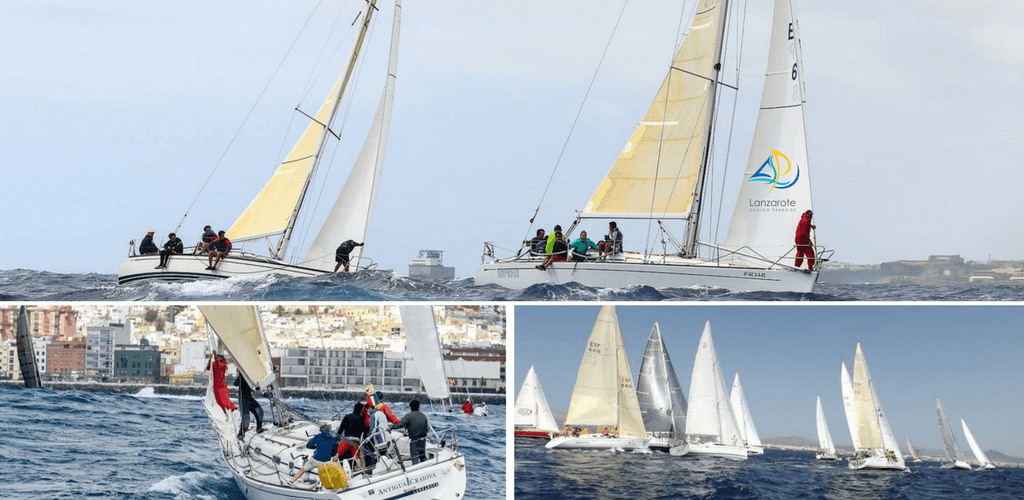 Collage_lanzarote_sailing_paradise