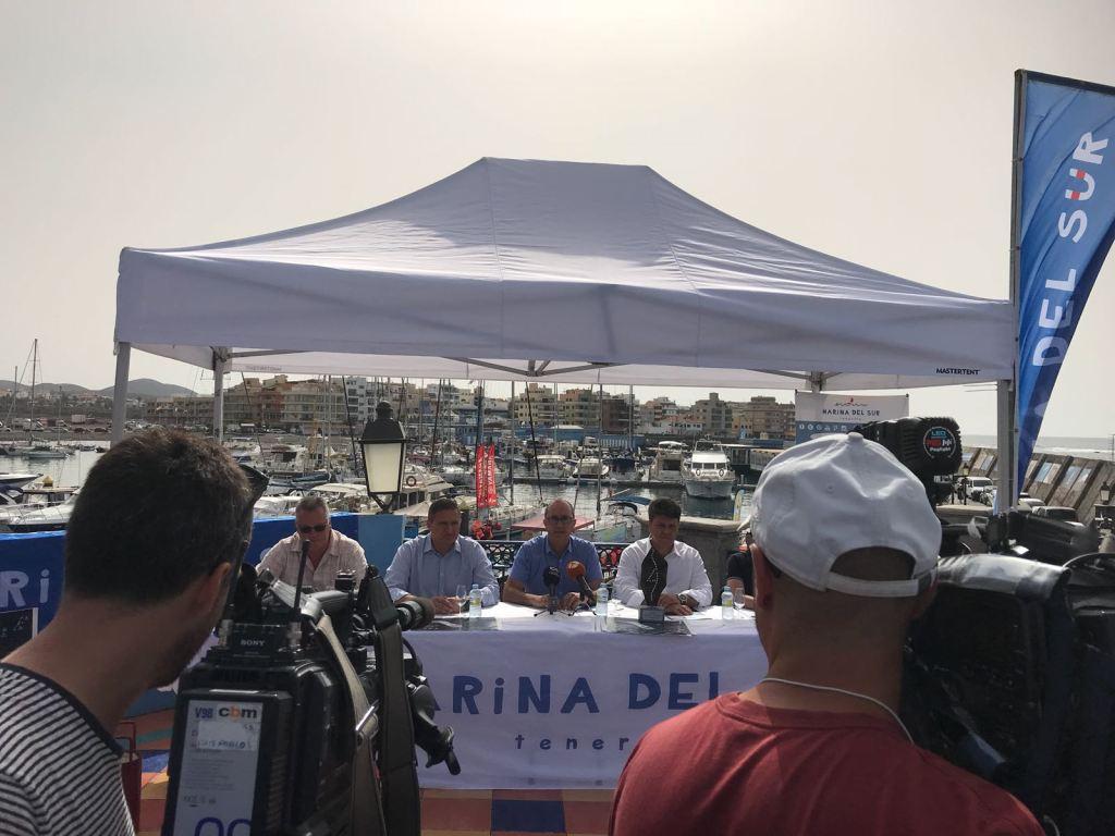 prensa regata puertos canarios presentacion tenerife