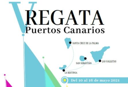 Portada web Regata Puertos Canarios 2021 - Lanzarote Sailing Paradise