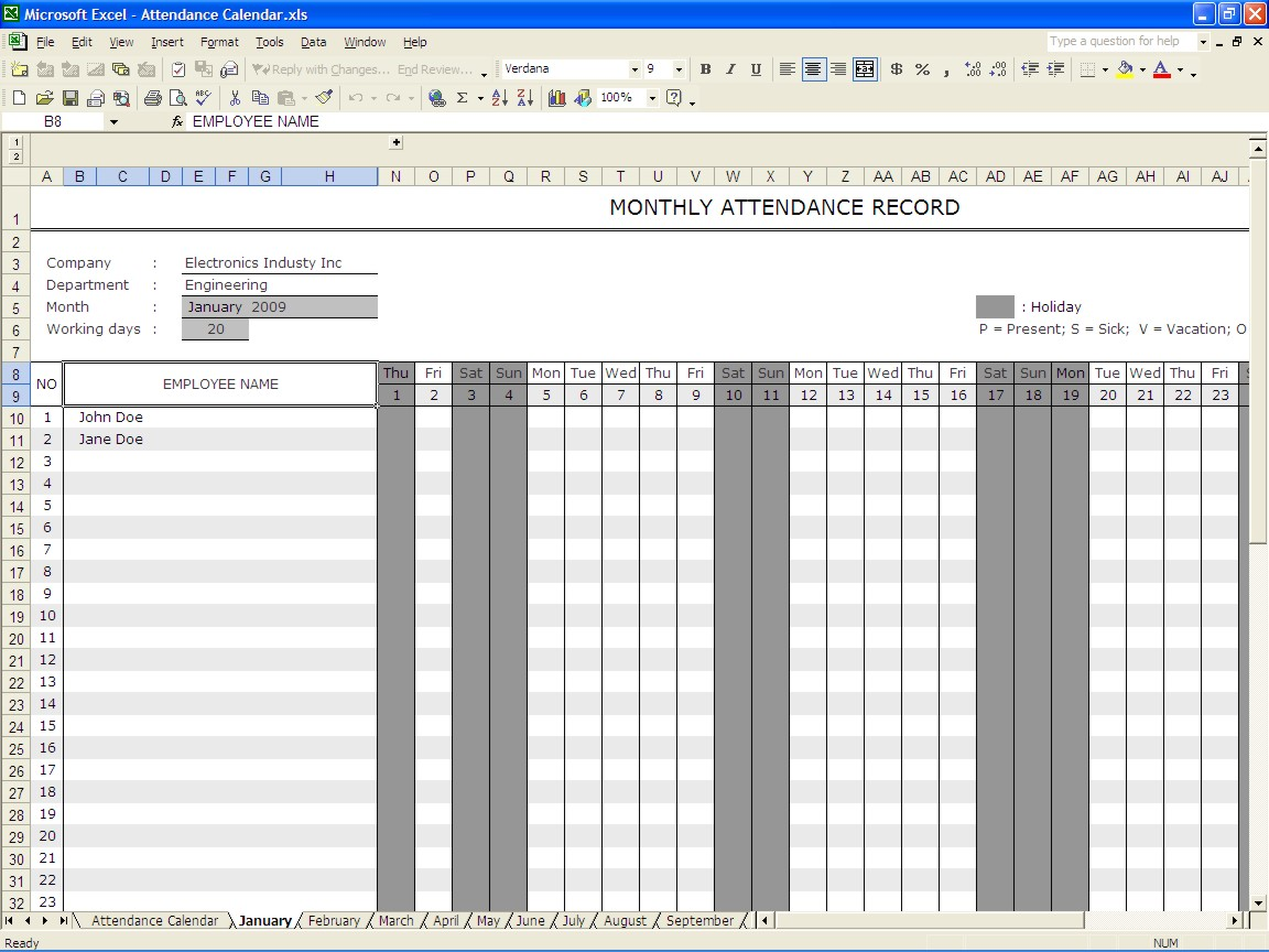 Employee Vacation Accrual Download