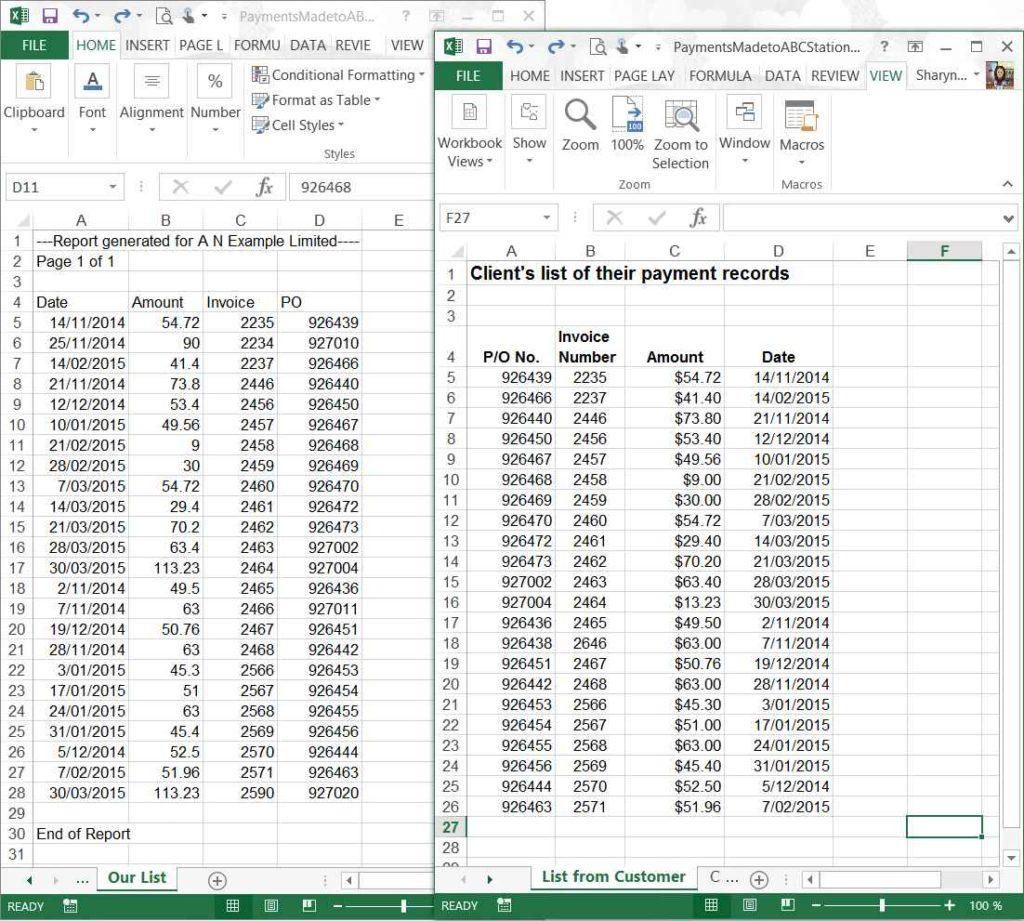 Excel Sample Data Free Download