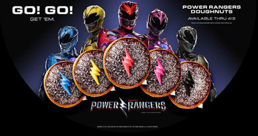 Power Rangers Krispy Kreme