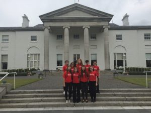 President Hosts the Music Generation Laois Trad Group at Community Garden Party at Áras an Uachtaráin