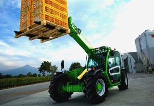 Ploughing Debut For New Merlo Turbofarmer