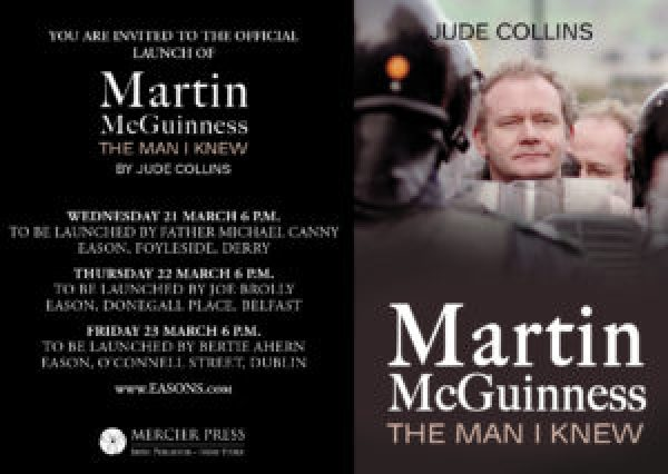 New Book Released To Commemorate Martin McGuinness