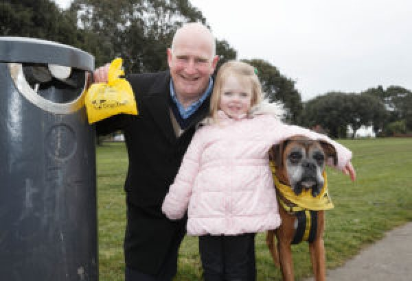 "Dogs Trust Launches ""The Big Scoop Award"" As Part Of Tidy Towns 2018"