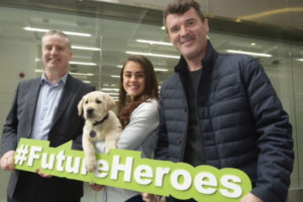Roy Keane Asks Public To Support Irish Guide Dogs Heroes Appeal