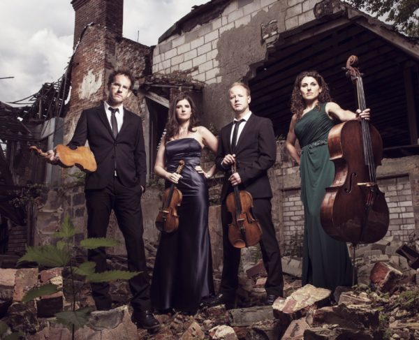 A date for Thurles - With over six million plays on Spotify to date, The Carducci Quartet is recognised as one of today's most successful string quartets