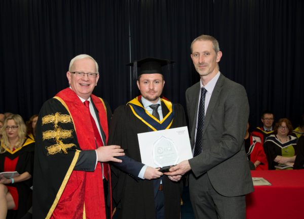 Double celebrations for Moyne student at recent graduation ceremony