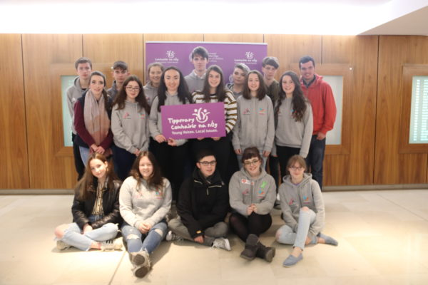 Tipperary well represented at Comhairle na nÓg National Showcase 2018