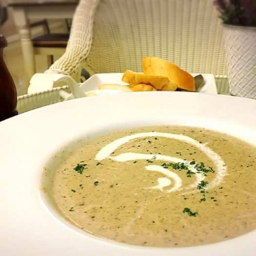 Cream of the Forest Mushroom Soup