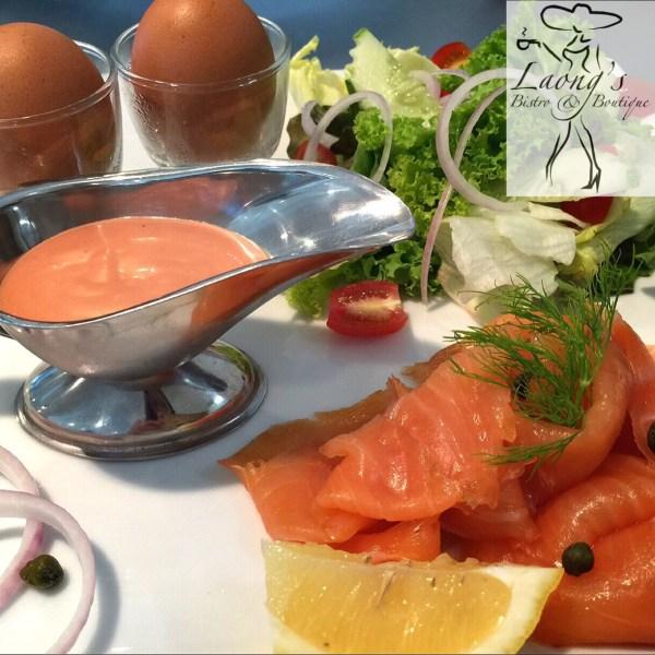 Laong's Salmon Breakfast