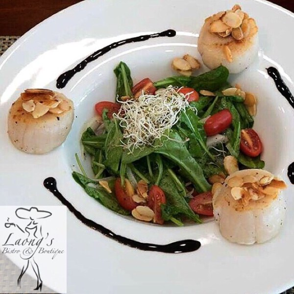 Hokkaido Scallop Salad