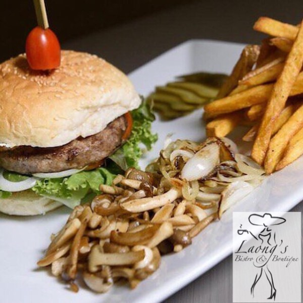Laong's Burger Deluxe