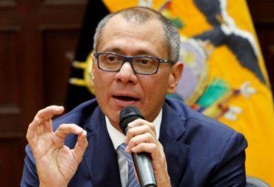 Ecuador: suspenden juicio político al vicepresidente Jorge Glas