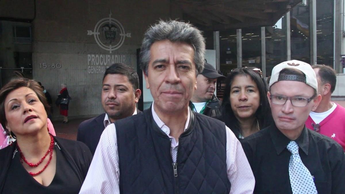 La insólita historia de José Cuesta, un candidato al parlamento colombiano