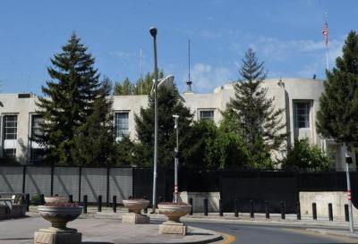 Tirotearon a la embajada de EE.UU en Turquía