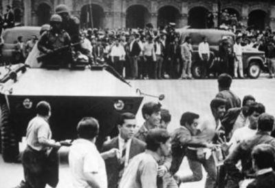 Se conmemoraron 50 años de la matanza estudiantil de Tlatelolco en México
