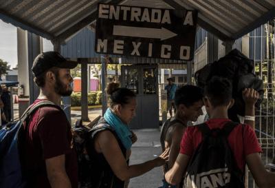El gobierno  de México otorga visas humanitarias a los migrantes de la caravana