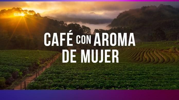 """""""Woman-fragranced coffee"""", soon on Telemundo."""
