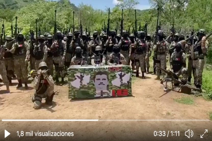 """VIDEO  22Soy Mencho mi guerra es en contra...22 así comienza la temible amenaza del CJNG - VIDEO: """"Soy Mencho, mi guerra es en contra…"""" así comienza la temible amenaza del CJNG"""