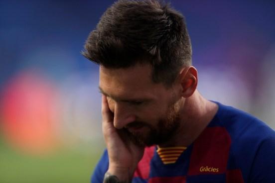 Leo Messi volvió a quedar fuera de la Champions.