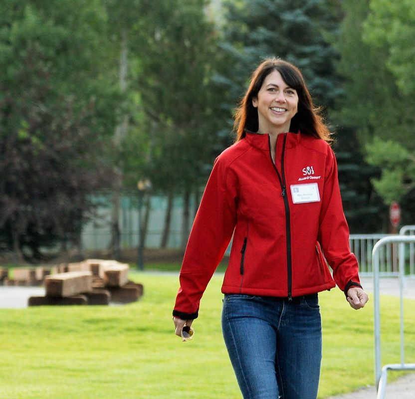 GettyImages 173218731 e1599171429858 - MacKenzie Scott, la multimillonaria ex esposa de Jeff Bezos, se volvió a casar con un maestro de escuela