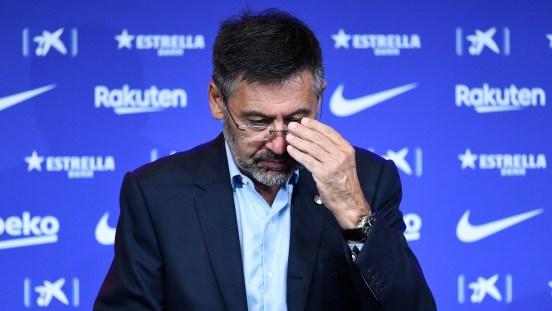 Bartomeu renuncia barcelona