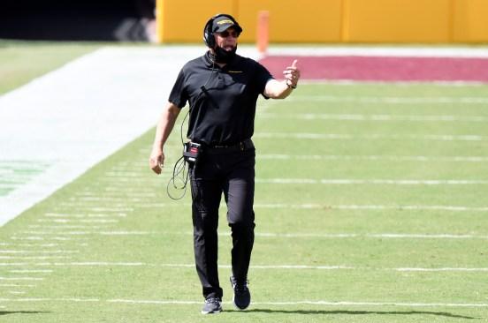 Ron Rivera, head coach del equipo de fútbol americano de Washington.