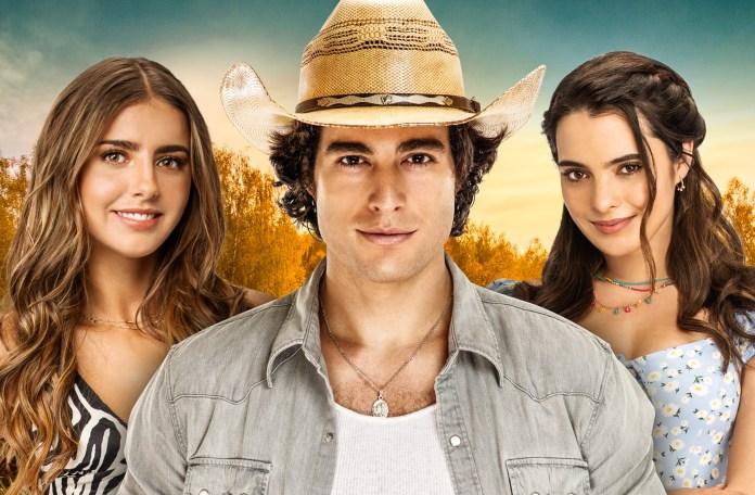 Michelle Renaud, Danilo Carrera and Scarlet Gruber in 'Quererlo Todo'