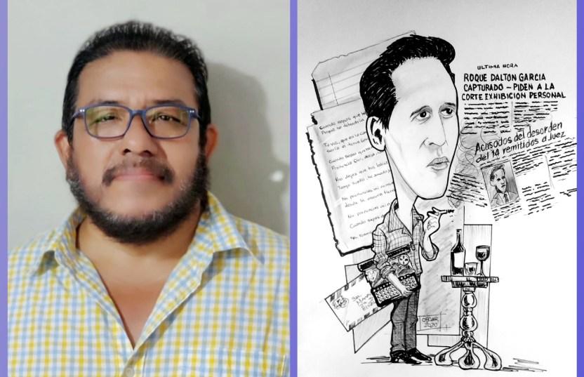 Combo oscar mauricio caricatura cortesia oscar mauricio - Durante la pandemia nace la caricatura con talento salvadoreño