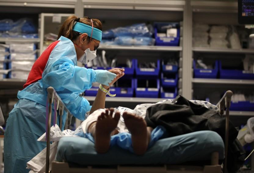 GettyImages 1226430477 - Arizona tiene ahora la peor tasa de infección por coronavirus en Estados Unidos