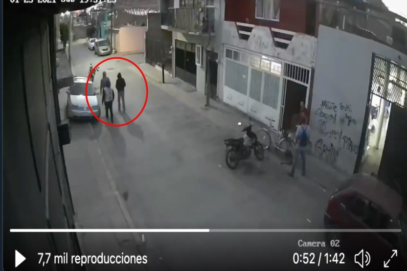 VIDEO  Momento exacto en que sicarios matan a familia un niño y 2 mujeres entre las víctimas - VIDEO: Momento exacto en que sicarios matan a familia; un niño y 2 mujeres entre las víctimas
