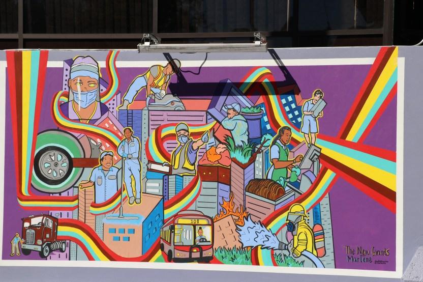 IMG 0127 - Develan mural 'Gratitud' en el Consulado de México en Los Ángeles