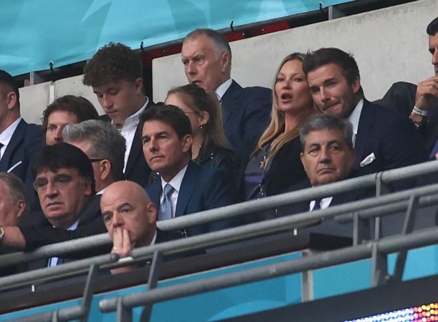 Desde la realeza hasta Tom Cruise: Los invitados VIP que acudieron a la  final de la Eurocopa 2020 - La Opinión