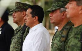 Dona Gobierno 350 ha a SEDENA para la Policía Militar en Cancún