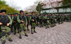 Arriban 600 militares a Playa y Cancún