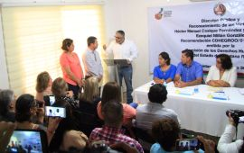 Fiscalía protege a 43 funcionarios acusados de tortura: Casique